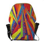 clase particular un bolso colorido bolsas de mensajería