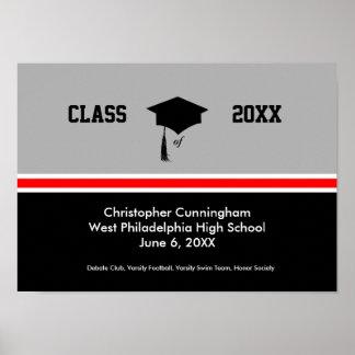 Clase personalizada de graduación poster