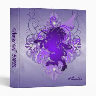 Clase púrpura del unicornio de la fantasía urbana