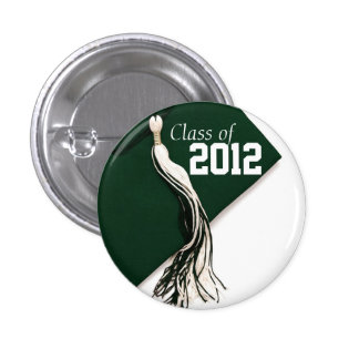 Clase verde del botón 2012 pin