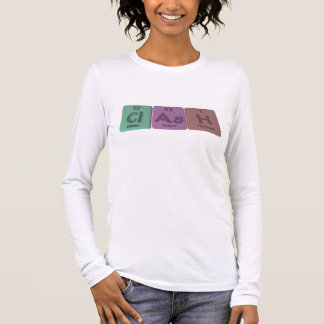 Clash-Cl-As-H-Chlorine-Arsenic-Hydrogen.png Long Sleeve T-Shirt
