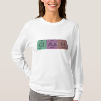Clash-Cl-As-H-Chlorine-Arsenic-Hydrogen.png T-Shirt