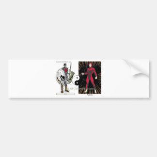 Clash Of Cemented Essence Bumper Sticker