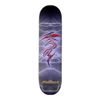 Clash of Lightning Tribal Skateboard - ElixirNinE