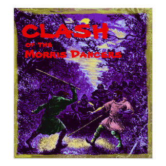 CLASH of the Morris Dancers Poster