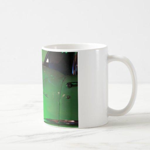 Clasic Old green card. Miami, FL Classic White Coffee Mug