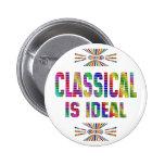 Clásico es ideal pin