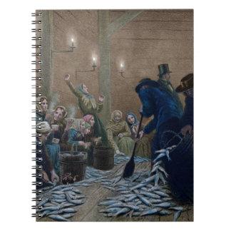 Clasificación de los arenques spiral notebook