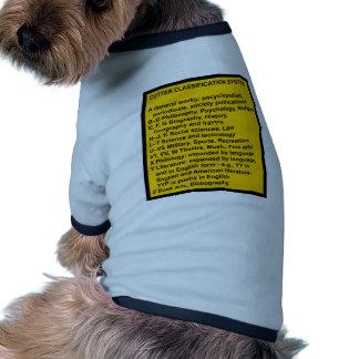 Clasificación expansiva del cortador camiseta de perro