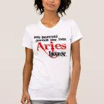 Clasificado en aries camiseta