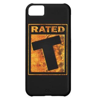 Clasificado-T para adolescente Funda Para iPhone 5C