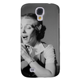Clasped Hands Samsung Galaxy S4 Cover