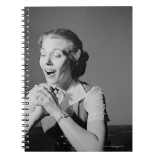 Clasped Hands Spiral Notebook