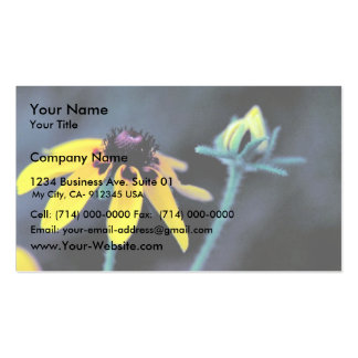 Clasping-leaf Coneflower Double-Sided Standard Business Cards (Pack Of 100)