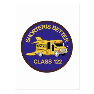 Class 122 Shorteris Bette Postcard