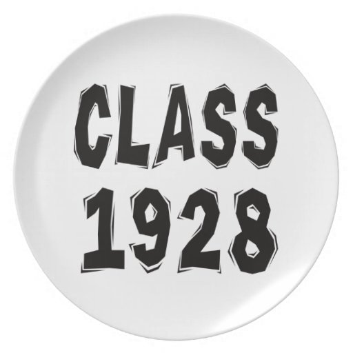 Class 1928 plates