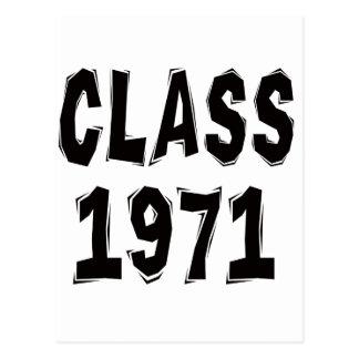 Class 1971 postcard