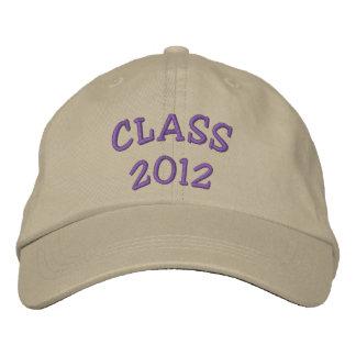 CLASS 2012 BASEBALL CAP