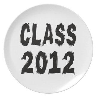 Class 2012 plate