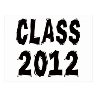 Class 2012 post cards