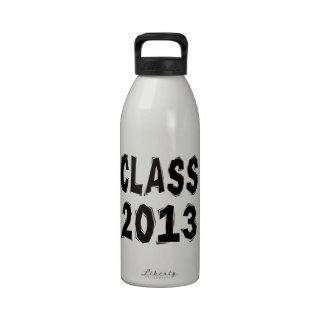 Class 2013 reusable water bottle