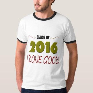 Class 2016 Done Good Men's Ringer T-Shirt