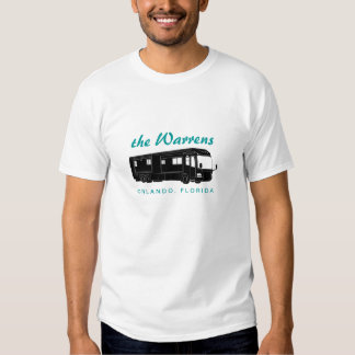 Class A Motorhome / Bus Silhouette Graphic Tee Shirt