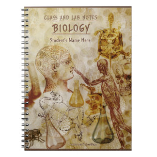 Class and Lab Notes - Biology (Personalized) Notebook
