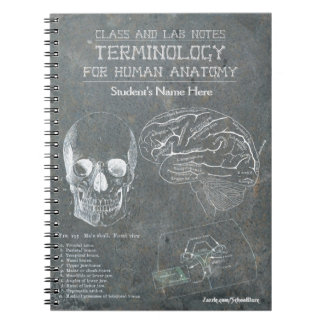 Class and Lab Notes - Terminology (Personalized) Spiral Notebook