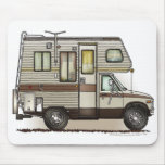 Class C Camper RV Mouse Pad
