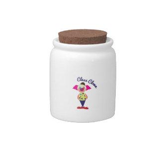 Class Clown Candy Jars