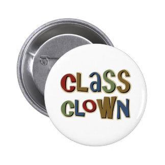 Class Clown Pinback Button