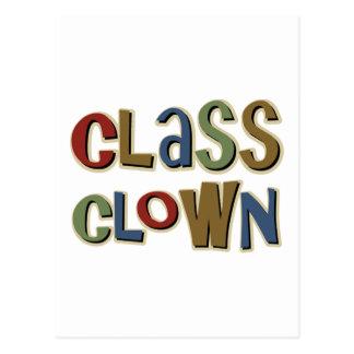 Class Clown Postcard