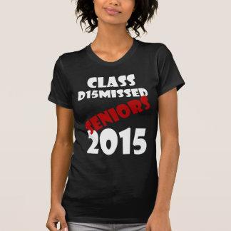 Class Dismissed 2015 T-Shirt