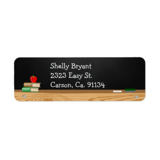 Class Dismissed Chalkboard Teacher Retirement Label