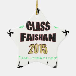 Class Faishan 2015 Image Ceramic Ornament