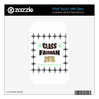 Class Faishan 2015 Image Skins For iPod Touch 4G