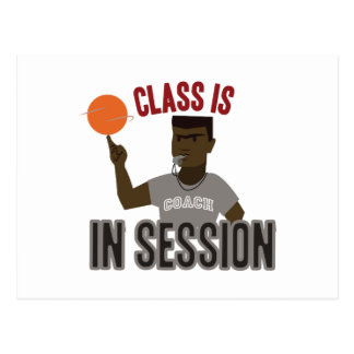 Class in Session Postcard