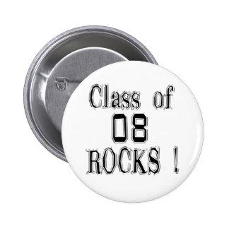 Class of 08 Rocks Button