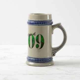 Class of 09 Button #2 (Customizable) Beer Stein