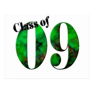 Class of 09 Button #2 (Customizable) Postcard
