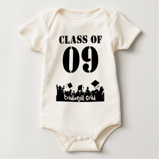 Class of 09 Cradle Roll Grad Infant T-shirts