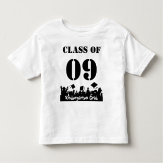 Class of 09 kindergarten Grad Infant T-shirts