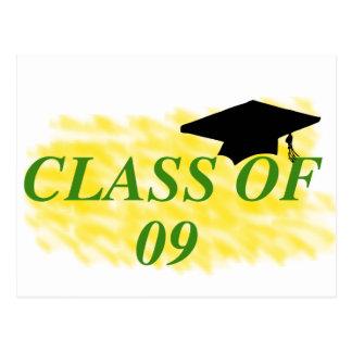 class of 09 postcard