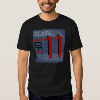 Class of 11 Grunge Dark T-Shirts