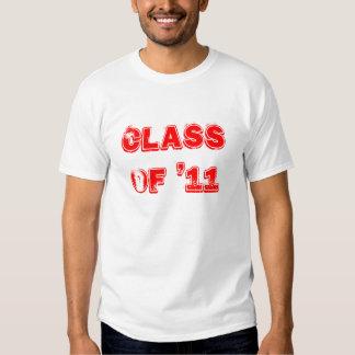 CLASS OF '11 TEE SHIRT