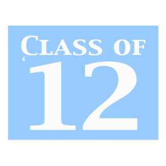 Class of 12 Gifts Postcard