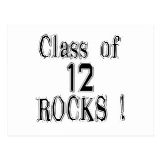 Class of '12 Rocks! Postcard