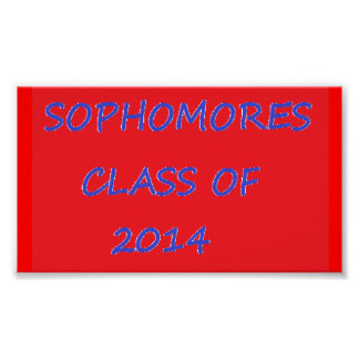 Class of 14 poster