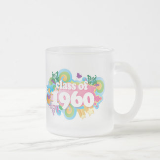 Class of 1960 frosted glass coffee mug